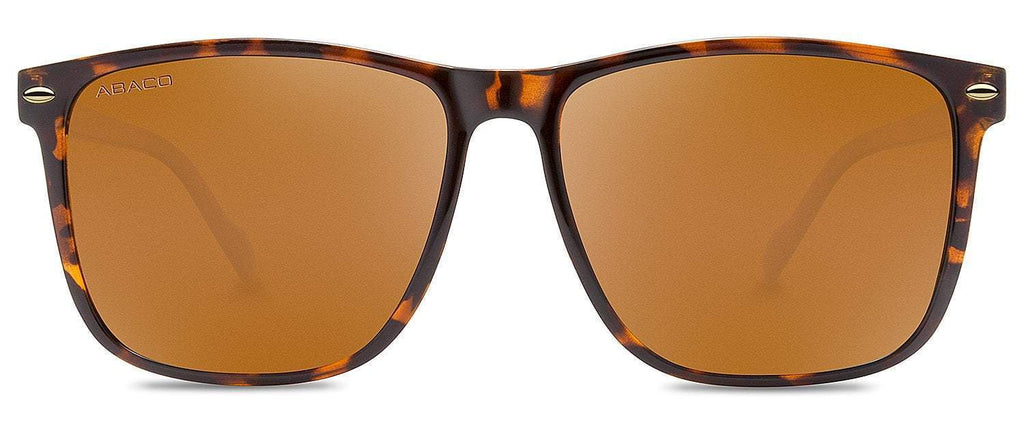 Abaco Jesse Tortoise Sunglasses Brown Polarized Lens Side