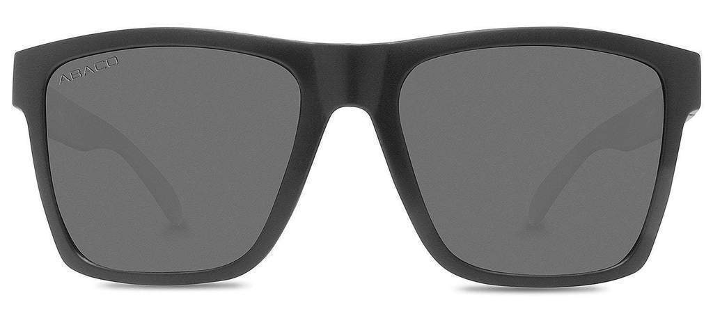 Abaco Cruiser II Matte Black Sunglass Polarized Fire Mirror Lens Side