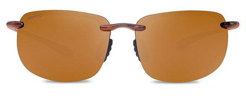 Abaco Outrigger Tortoise Sunglasses Polarized Brown Lens Front