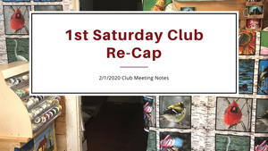 1st Saturday Club Re-Cap