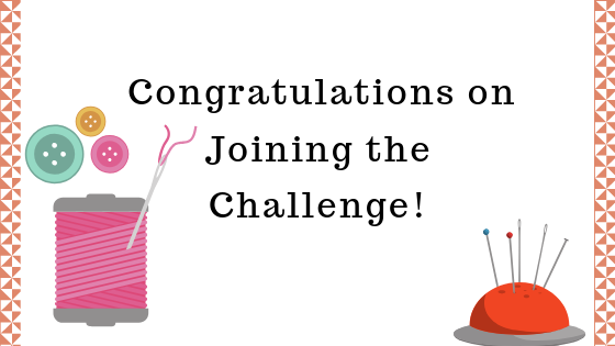 Congratulations on joining the Quilting your Legacy challenge!