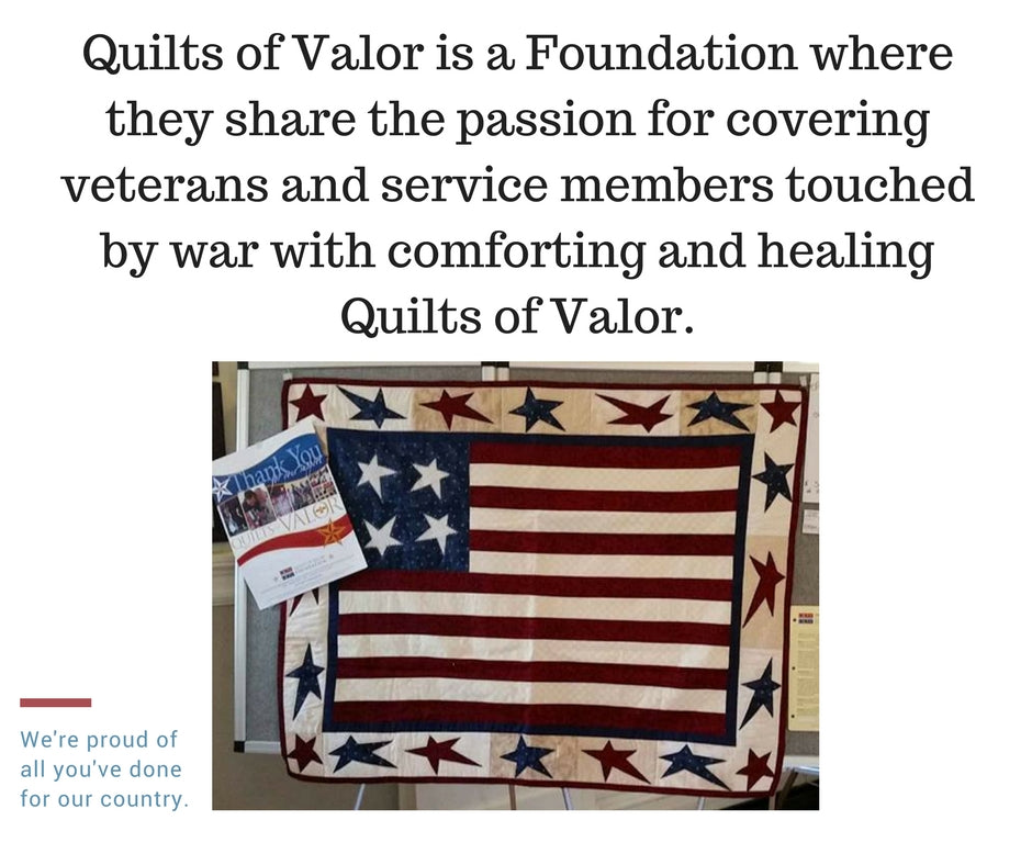 Quilts of Valor - 1st event at Norton House Quilting