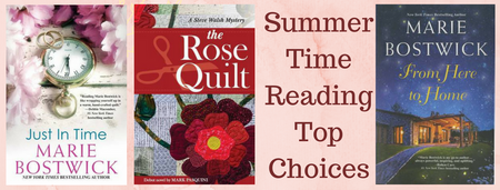Summer Time Reading Top Choicesc