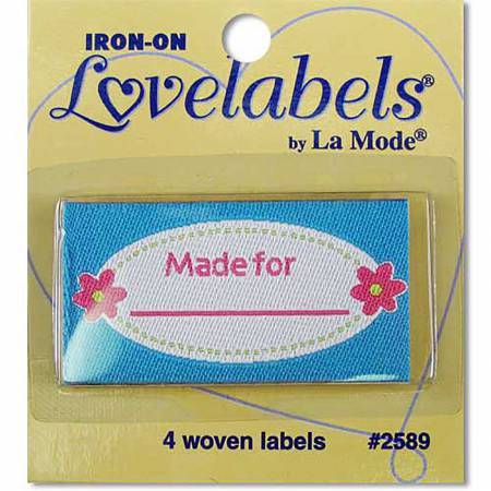 Made For Iron-on Lovelabels - 2589