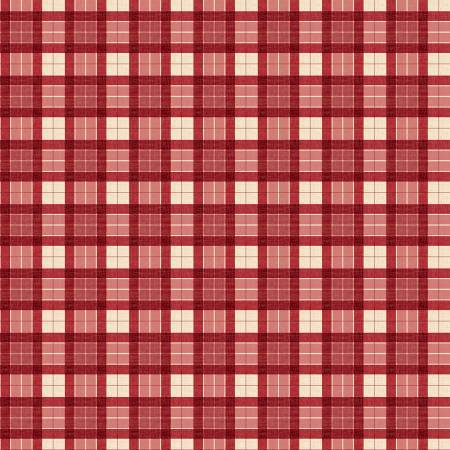 Evergreen Farm - Red Plaid - 39650-323 - Wilmington Prints - Winter Christmas