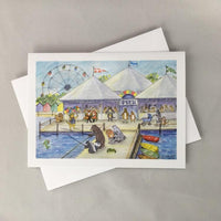 Pier Promenade Notecard - Woodfield Press