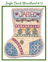 Jingle Sock Woodland - Pre Stamped Projects