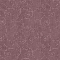 Whimsey Basic Swirls - Henry Glass - 8945-52 - Light Plum