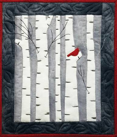 Birches Wall Quilt Pattern Pattern