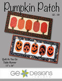Pumpkin Patch Table Runner Quilt As you Go