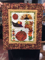 Shades of Fall - Complete Wall Hanging