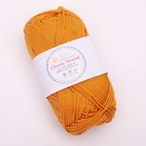 Yarn by Riley-Blake: Chunky Thread - Butterscotch - 50g Skein