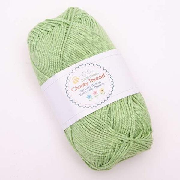 Yarn by Riley-Blake: Chunky Thread - Spring Green - 50g Skein