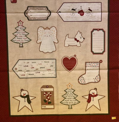 Winter Tags - Panel