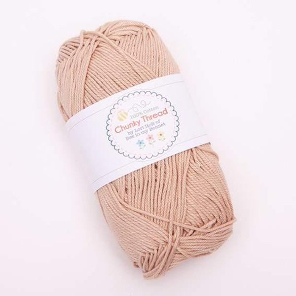 Yarn by Riley-Blake: Chunky Thread - Wheat - 50g Skein