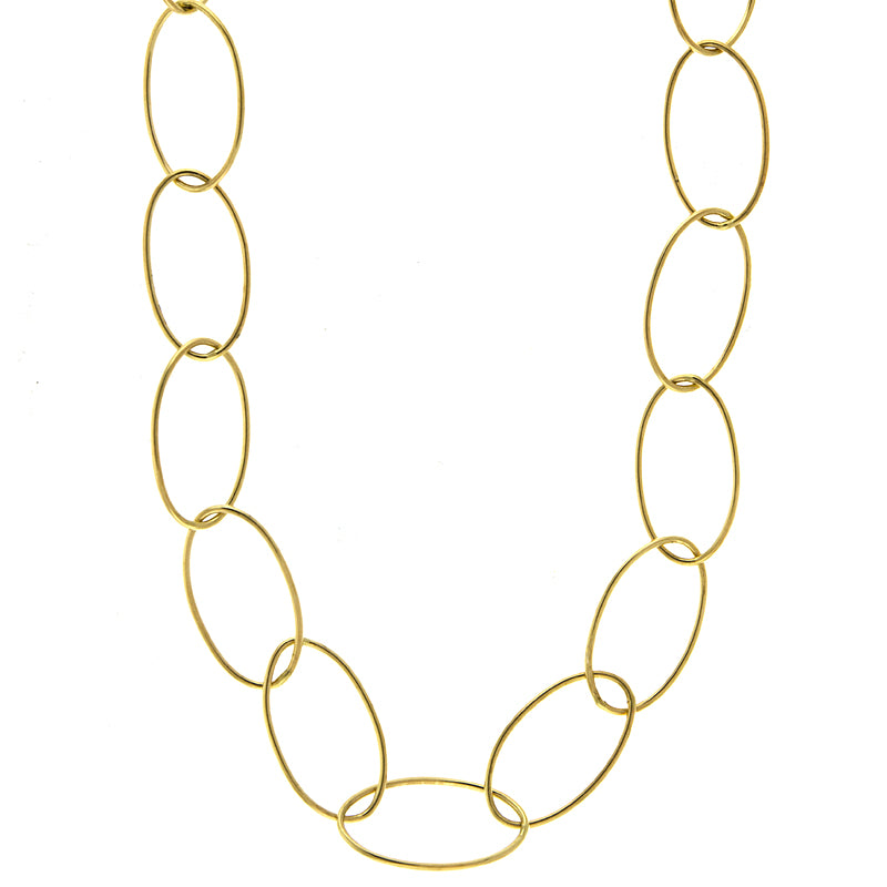 "Oval Link 34"" Chain - Lauren Sigman Collection"