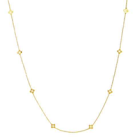 Clover Station Necklace - Lauren Sigman Collection