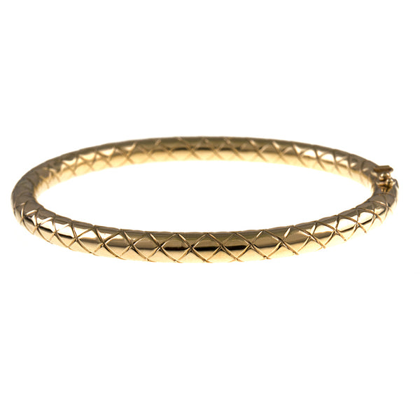 Criss Cross Bangle - Lauren Sigman Collection