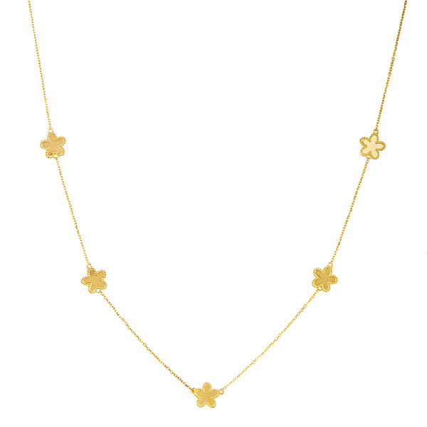 "Flower Station Chain in 18"" - Lauren Sigman Collection"
