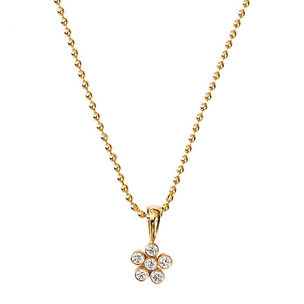 Dahlia Diamond Pendant - Lauren Sigman Collection