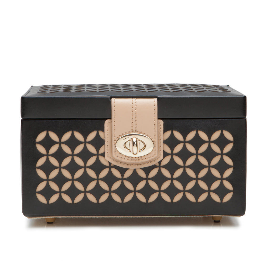 Chloé Small Jewelry Box (Black) - Lauren Sigman Collection