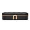 Chloé Zip Jewelry Case (Black) - Lauren Sigman Collection