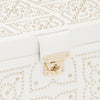 Marrakesh Medium Jewelry Box (Cream) - Lauren Sigman Collection