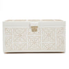 Marrakesh Large Jewelry Box (Cream) - Lauren Sigman Collection