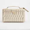 Caroline Medium Jewelry Case (Champagne) - Lauren Sigman Collection