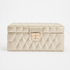 Caroline Small Jewelry Case (Champagne) - Lauren Sigman Collection