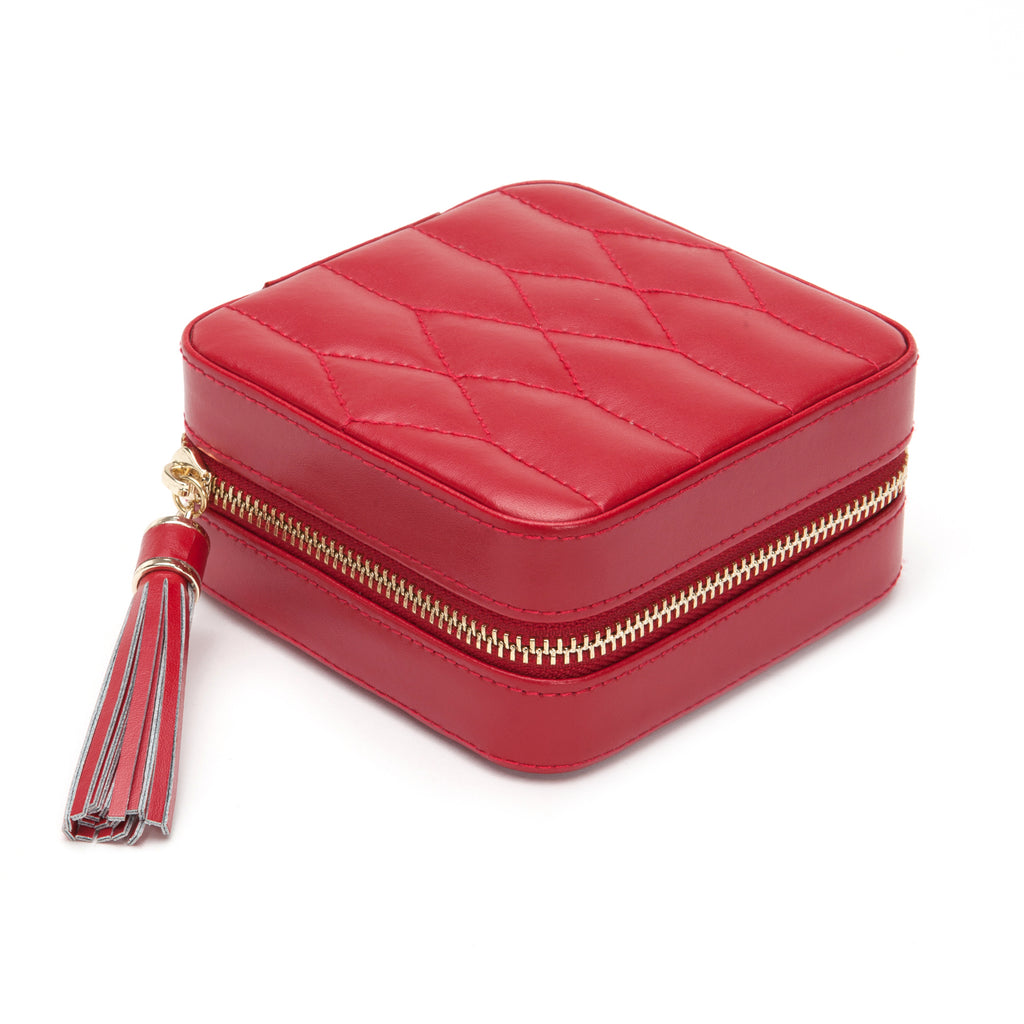 Caroline Zip Travel Case (Red) - Lauren Sigman Collection
