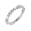 Alternating Diamonds Anniversary Band - Lauren Sigman Collection