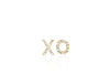 XO Diamond Stud Earrings - Lauren Sigman Collection