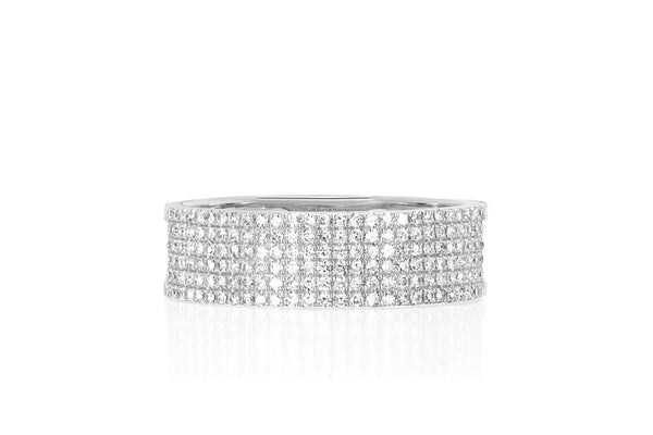 Diamond Cigar Band - Lauren Sigman Collection