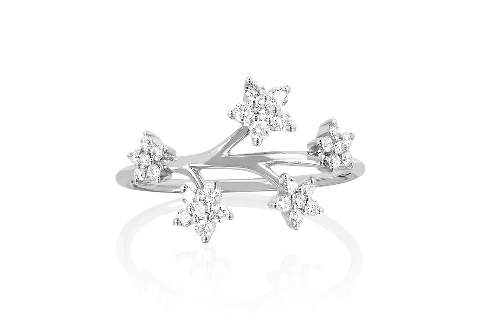 Diamond Bouquet Ring - Lauren Sigman Collection