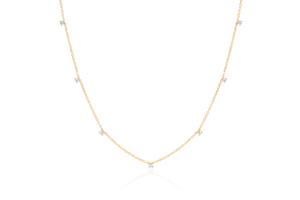 Prong Diamond Chocker Necklace - Lauren Sigman Collection