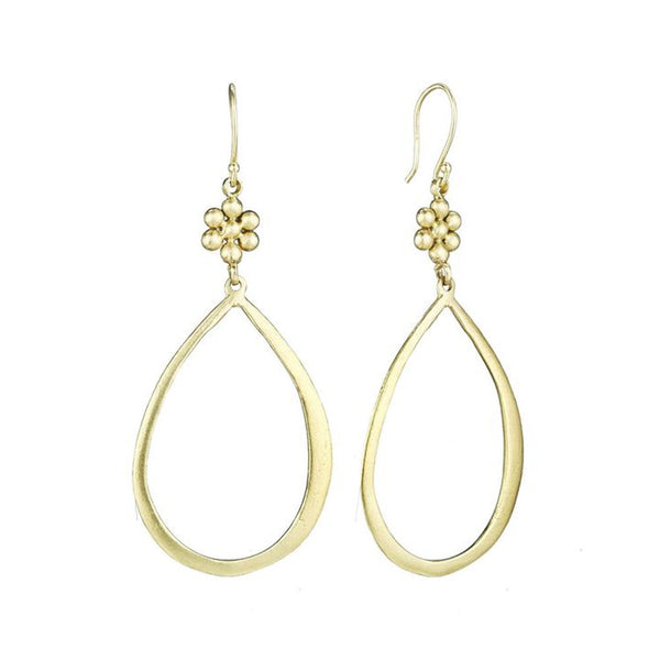 Ginger and LSJ Hoop Earrings - Lauren Sigman Collection