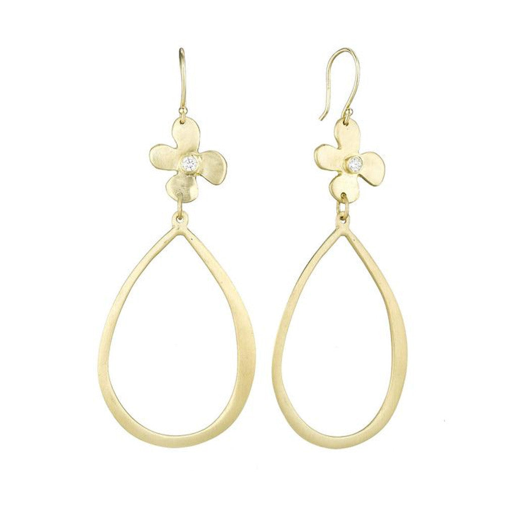 Lily and Diamond LSJ Earrings - Lauren Sigman Collection