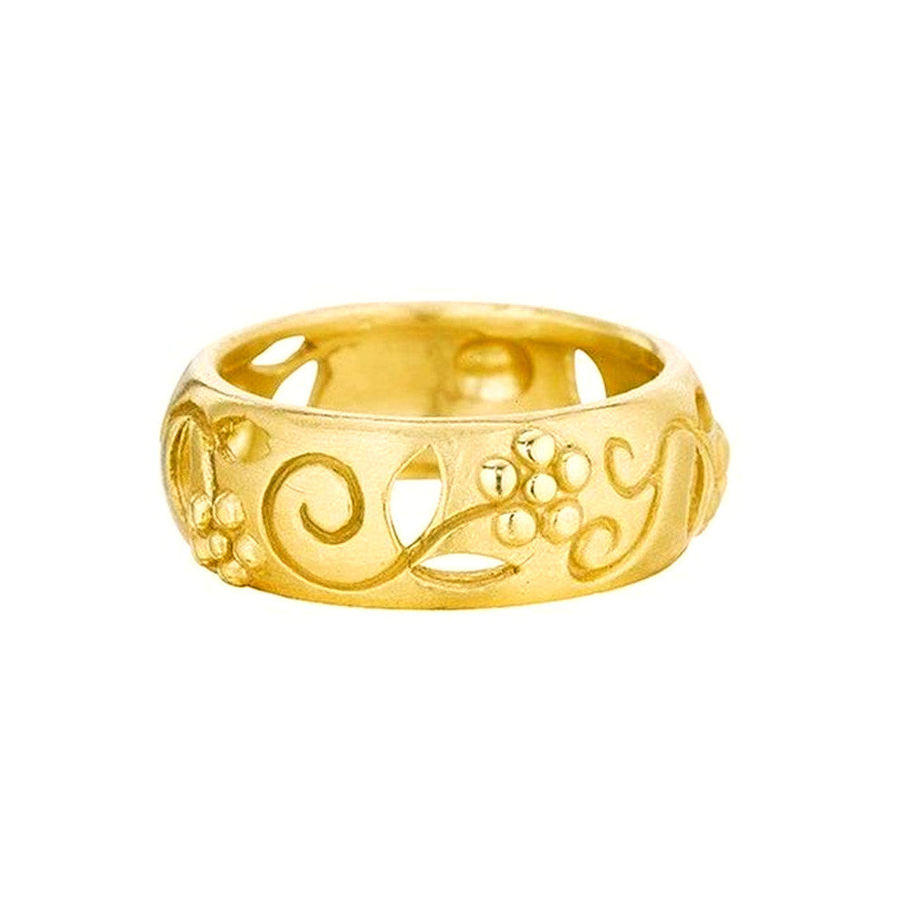 Garden of Eden Band in 18k Gold - Lauren Sigman Collection