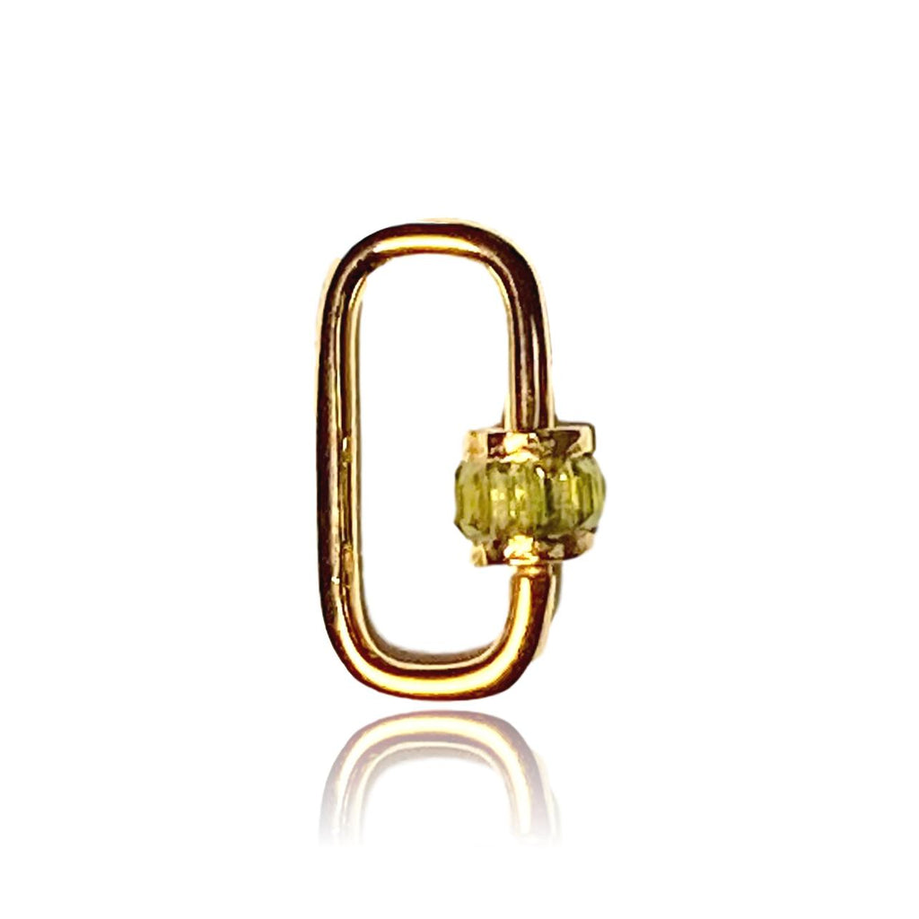 Peridot Carabiner Lock - Lauren Sigman Collection