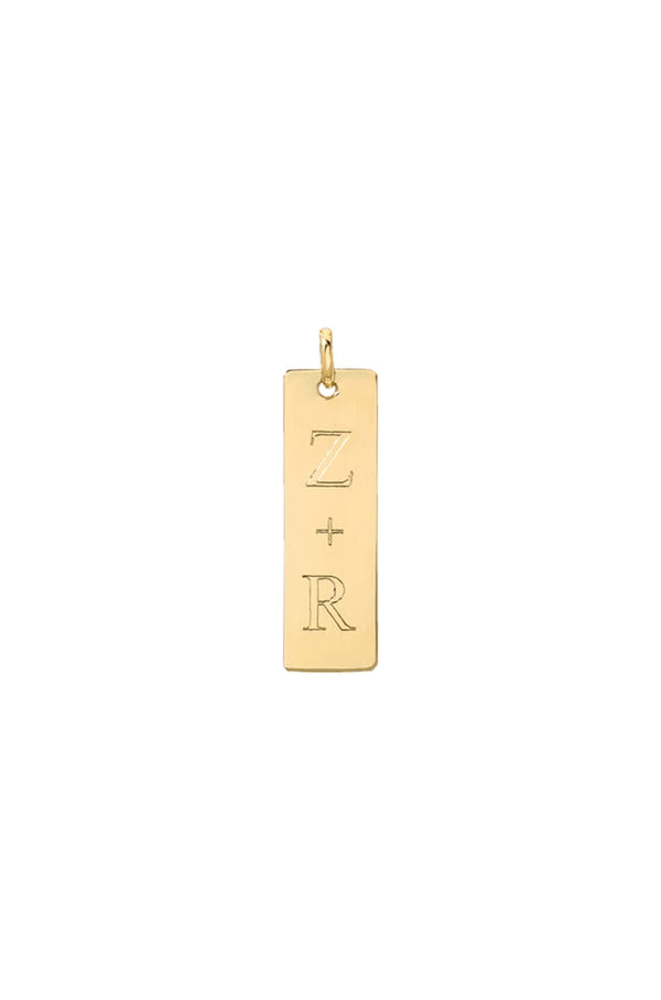 Gold Tag Charm/Short - Lauren Sigman Collection