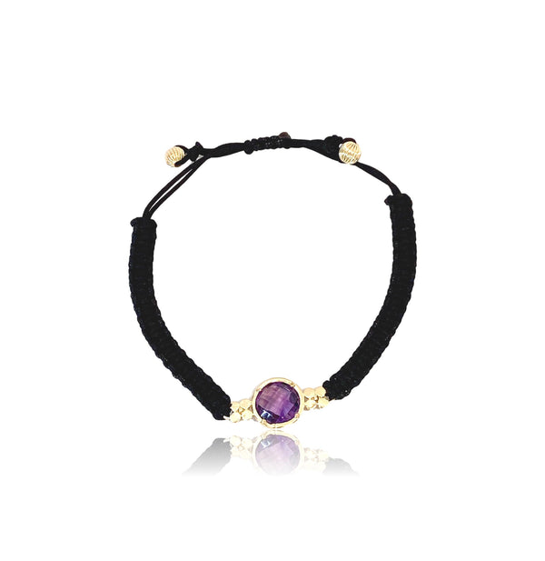 Aspen Gemstone Bracelet/Amethyst - Lauren Sigman Collection