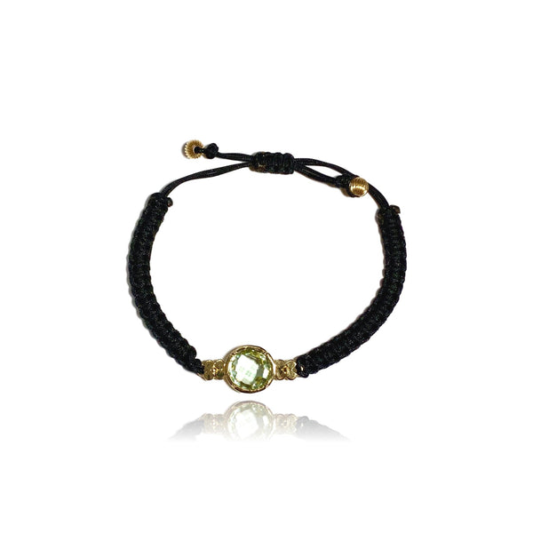 Aspen Gemstone Bracelet/Prasiolite - Lauren Sigman Collection