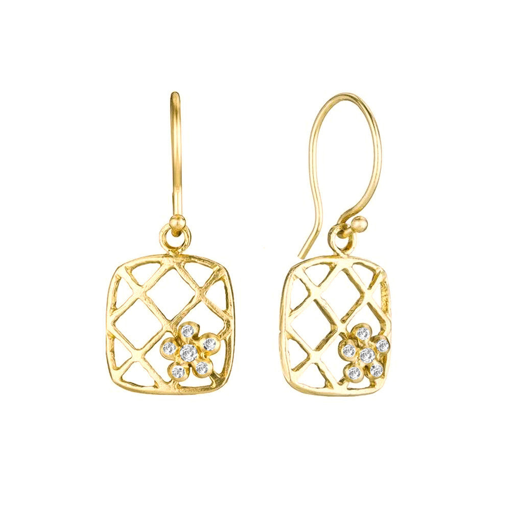 Ivy Diamond Earrings - Lauren Sigman Collection