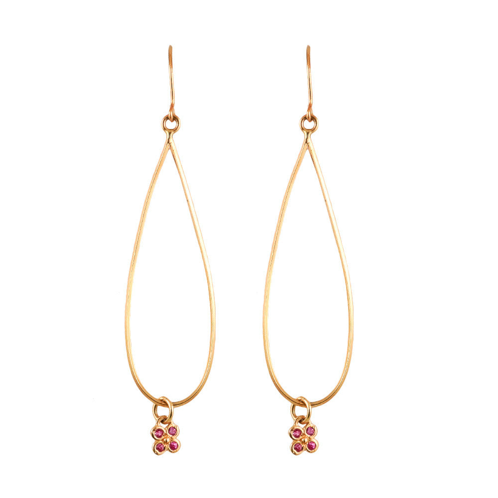 Chandelier Flower Earrings - Lauren Sigman Collection