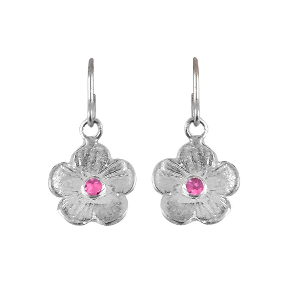 Sterling Silver Petunia Earrings - Lauren Sigman Collection