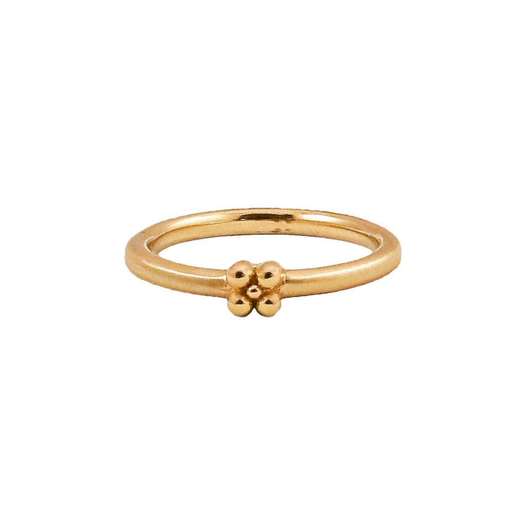 Gold Tansy Stacking Band - Lauren Sigman Collection