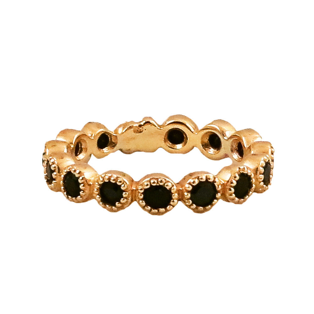 Jasmine Band/Black Spinel - Lauren Sigman Collection