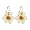 Daisy Earrings in Orange Sapphire - Lauren Sigman Collection