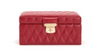 Caroline Small Jewelry Case (Red)